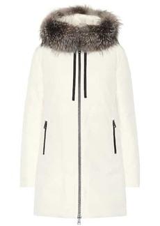 Moncler Fur-trimmed jacket