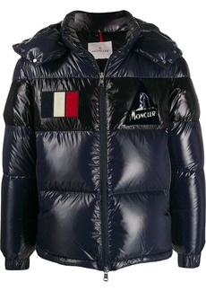 Moncler Gary short quilted puffer jacket