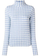 Moncler gingham check sweater