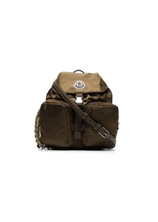 Moncler small Dauphine logo-patch backpack