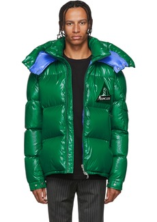 Moncler Green Down Wilson Jacket