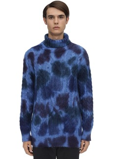 Moncler Grenoble Mohair Blend Cyclist Sweater