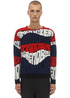 Moncler Grenoble Wool Blend Jacquard Sweater