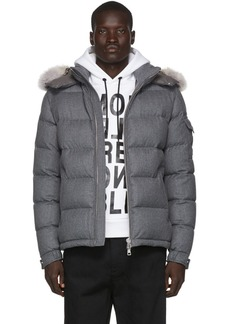 Moncler Grey Down Allemand Jacket