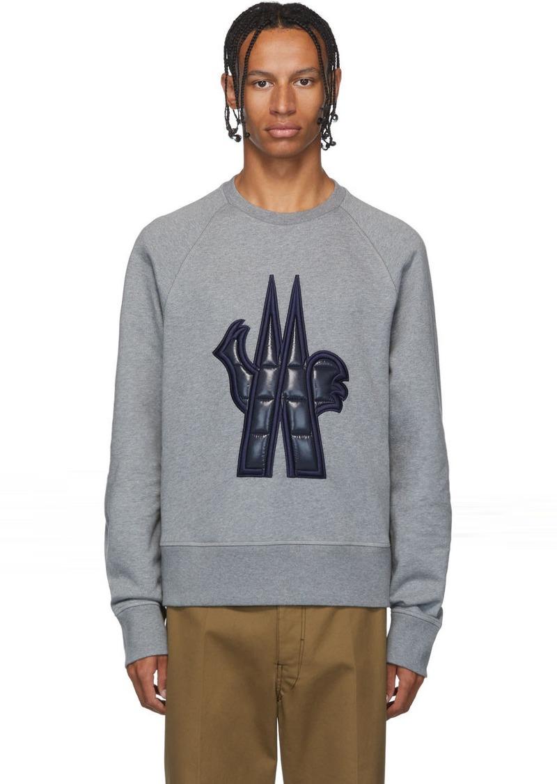 Moncler Grey Logo Sweatshirt