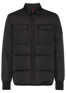 Moncler Gruss quilted shirt jacket