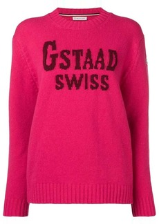Moncler Gstaad Swiss sweater