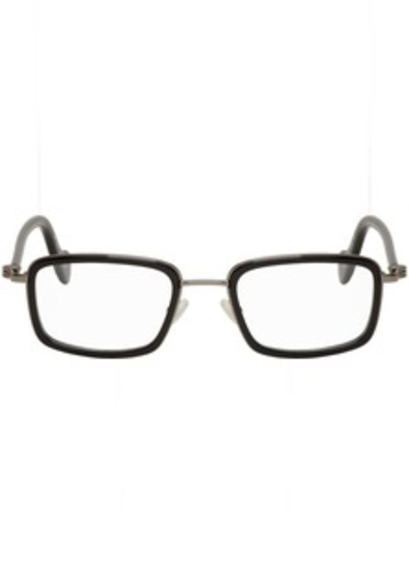 Moncler Gunmetal & Black ML 5026 Glasses