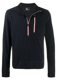 Moncler half-zip knit jumper