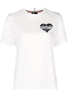 Moncler heart mountain T-shirt