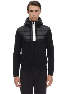 Moncler Hooded Zip-up Cardigan