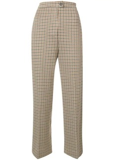 Moncler houndstooth trousers