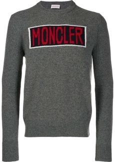 Moncler intarsia logo sweater