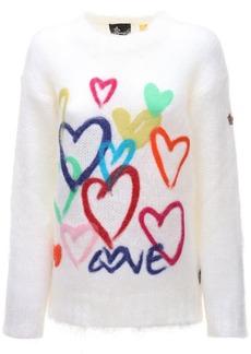 Moncler Intarsia Wool Knit Sweater