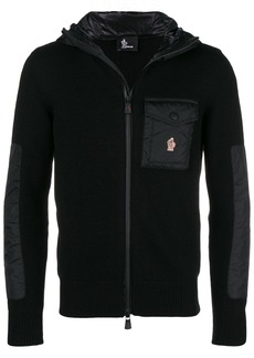 Moncler knit fitted jacket
