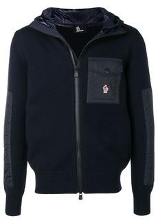 Moncler knit hooded jacket