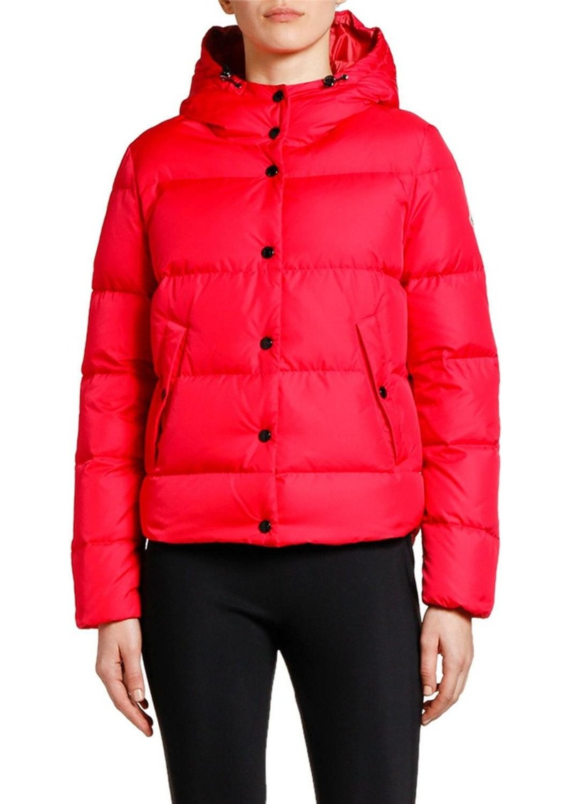 Moncler Lena Hooded Puffer Jacket