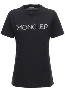 Moncler Logo Cotton Jersey T-shirt