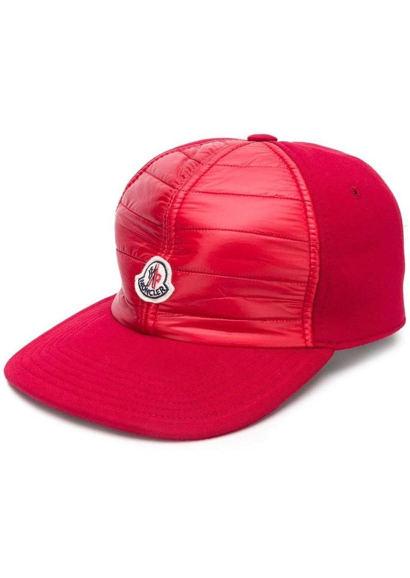 Moncler logo hat