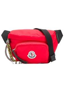 Moncler logo-patch belt bag