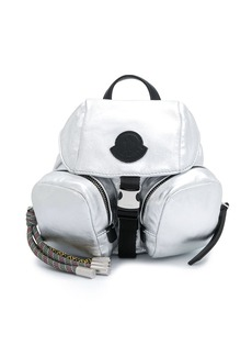 Moncler logo patch detail backpack