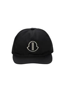 Moncler Logo Patch Nylon Baseball Hat