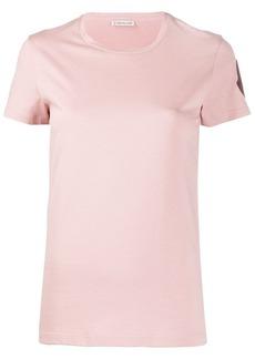 Moncler logo patch short-sleeved T-shirt