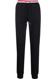 Moncler logo patch track pants