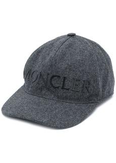 Moncler logo-print cap