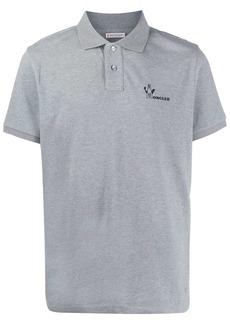 Moncler logo-print polo shirt