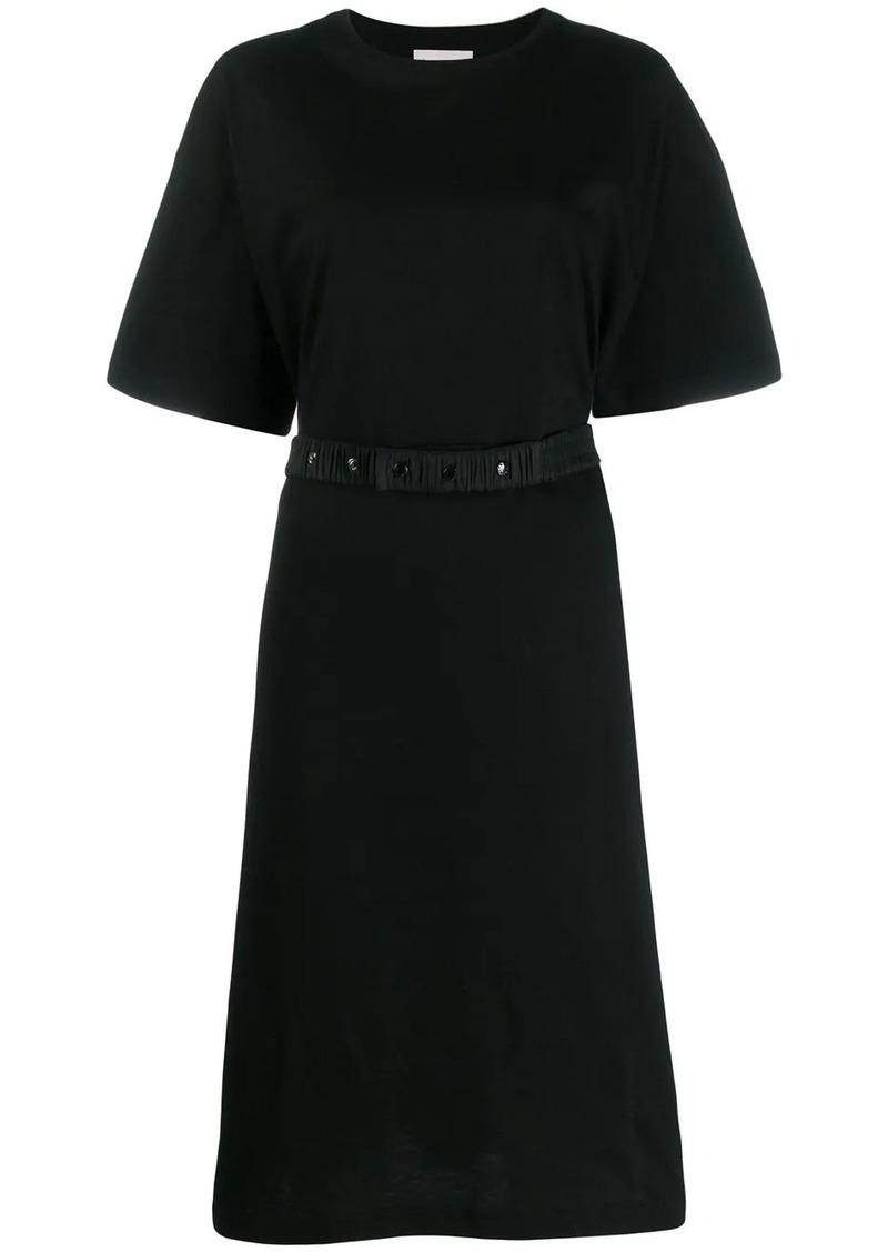 Moncler logo print T-shirt dress