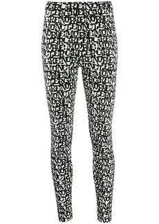 Moncler logo printed leggings