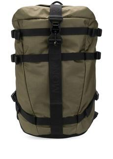 Moncler logo strap backpack
