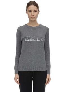 Moncler Logo Virgin Wool & Cashmere Knit Sweater