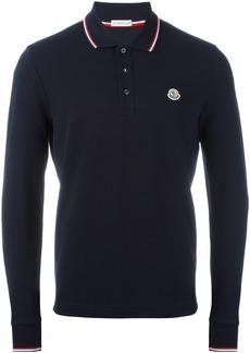 Moncler long sleeve polo shirt