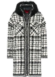 Moncler Ludmilla shearling-trimmed coat