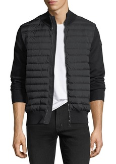 Moncler Maglia Tricot Zip-Front Cardigan