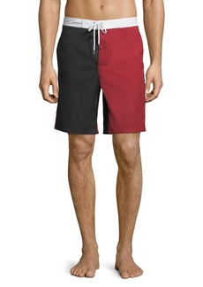 Moncler Mare Boxer Swim Trunks