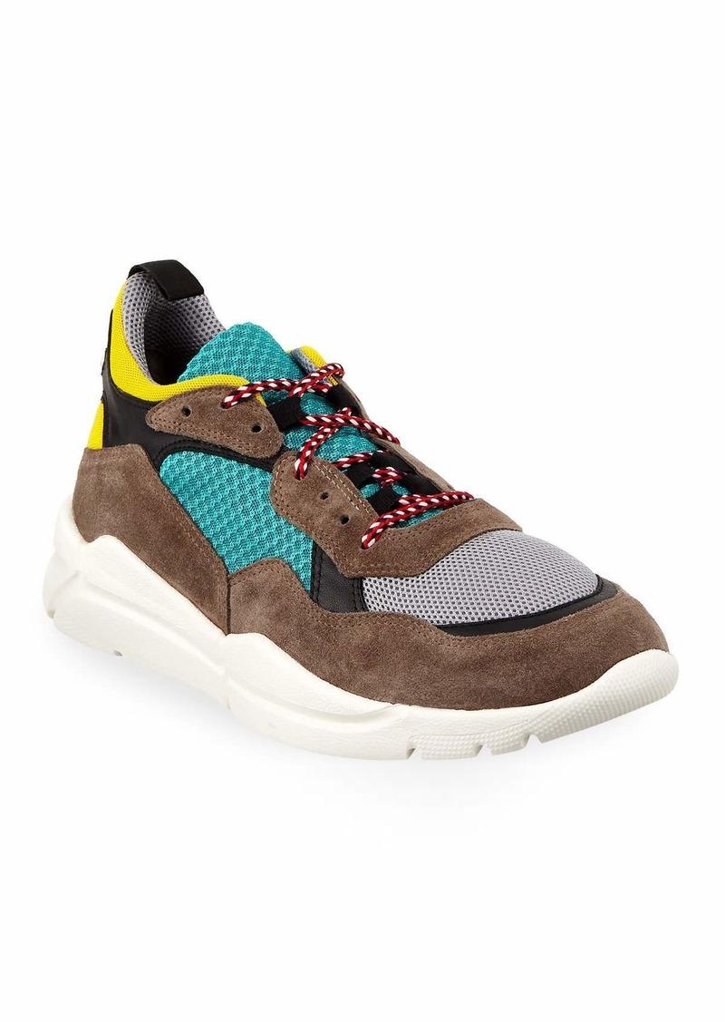 3436745cc Moncler Men's Calum Colorblock Dad Sneakers | Shoes