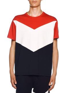 Moncler Men's Chevron Jersey T-Shirt