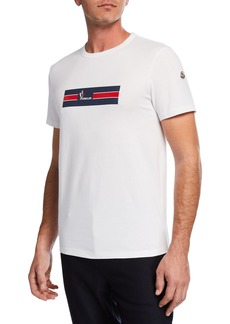 Moncler Men's Graphic Logo-Print T-Shirt
