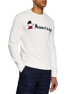Moncler Men's Maglia Girocollo Long-Sleeve Shirt