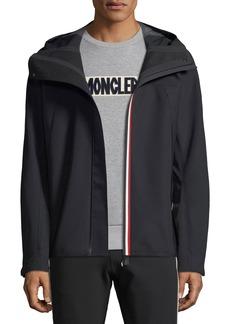 Moncler Men's Maglia Zip-Front Hoodie Jacket