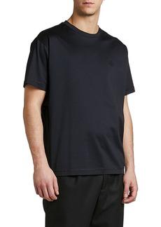 Moncler Men's Solid Jersey T-Shirt