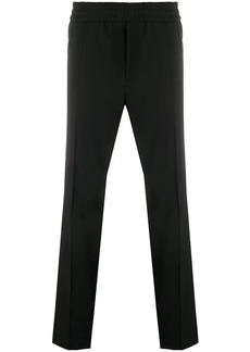 Moncler mid-rise straight leg trousers