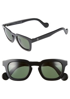 Moncler 47mm Sunglasses