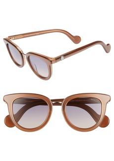 Moncler 48mm Cat Eye Sunglasses