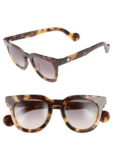 Moncler 48mm Retro Sunglasses