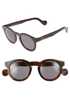 Moncler 49mm Keyhole Sunglasses