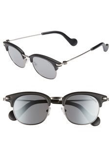 Moncler 49mm Wayfarer Sunglasses